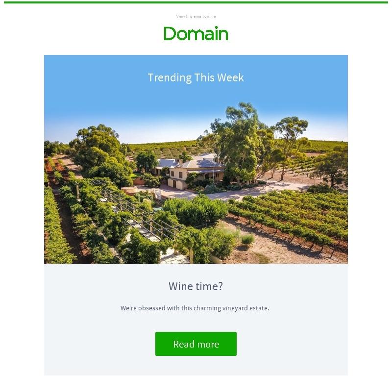 Domain. Trending this week